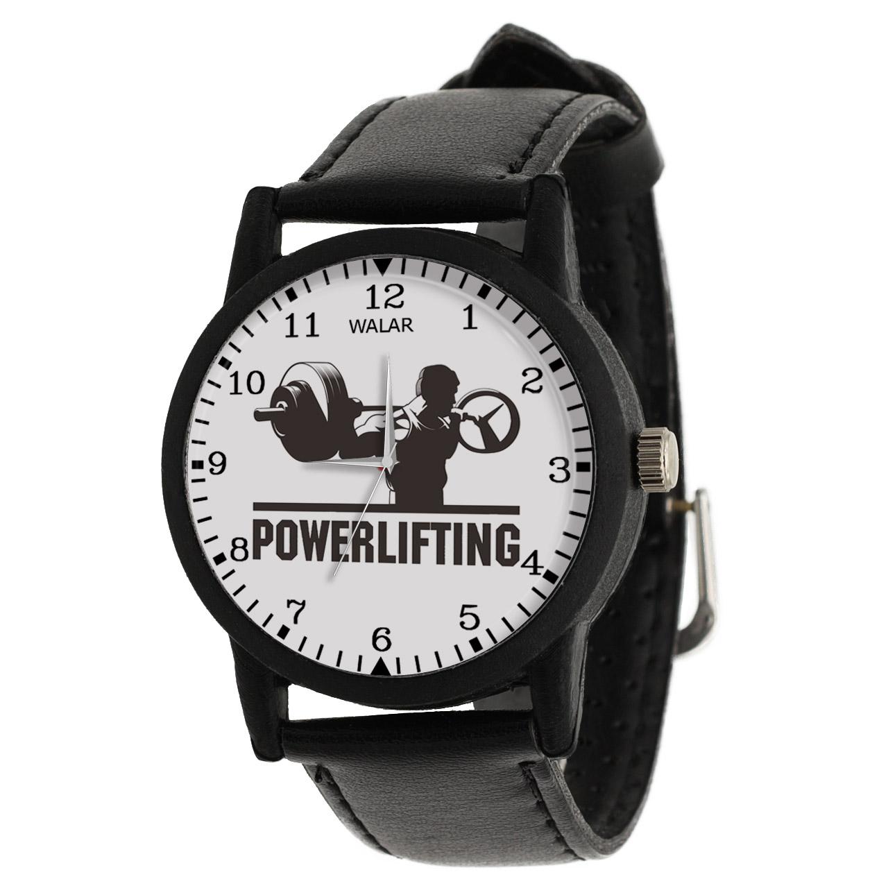 کد تخفیف                                      ساعت مچی عقربه ای مردانه والار طرح پاورلیفتینگ کد LF2223