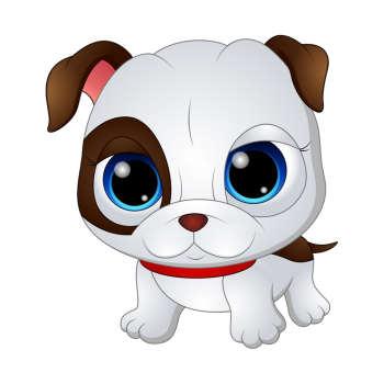 استیکر مستر راد طرح سگ اخمو کد 038