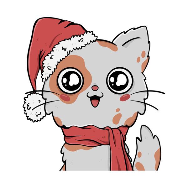 استیکر مستر راد طرح گربه پشمالو کد 039