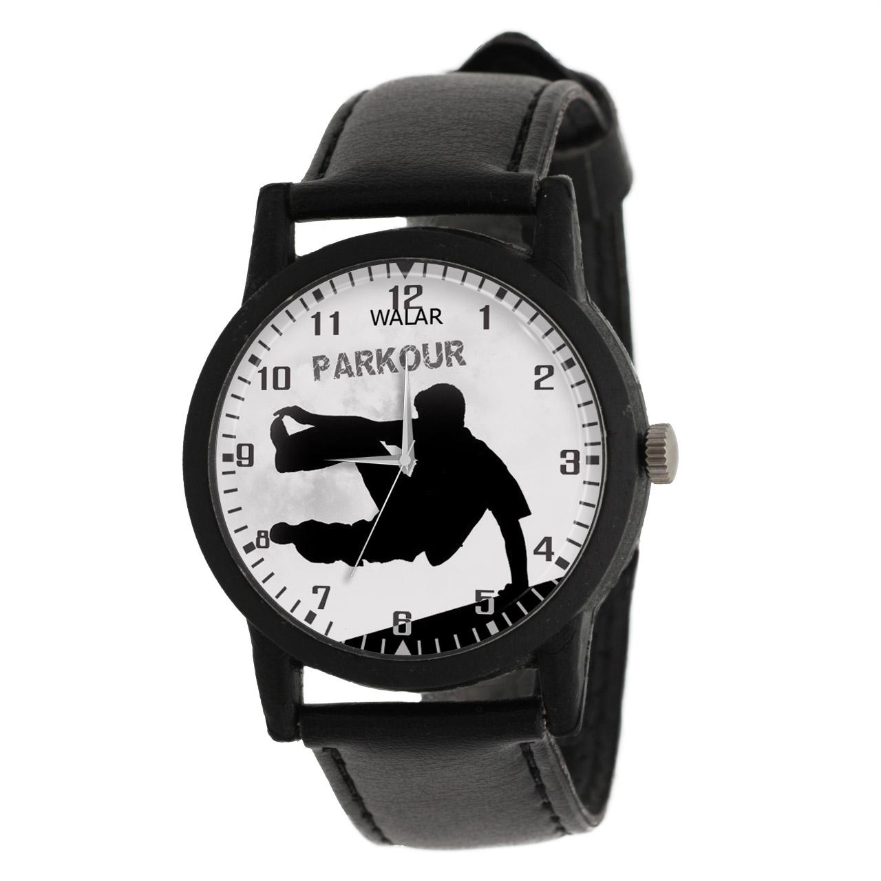 کد تخفیف                                      ساعت مچی عقربه ای مردانه والار طرح پارکور کد LF2231