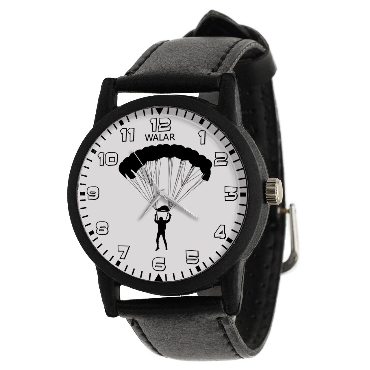 کد تخفیف                                      ساعت مچی عقربه ای والار طرح چتربازی کد LF2232