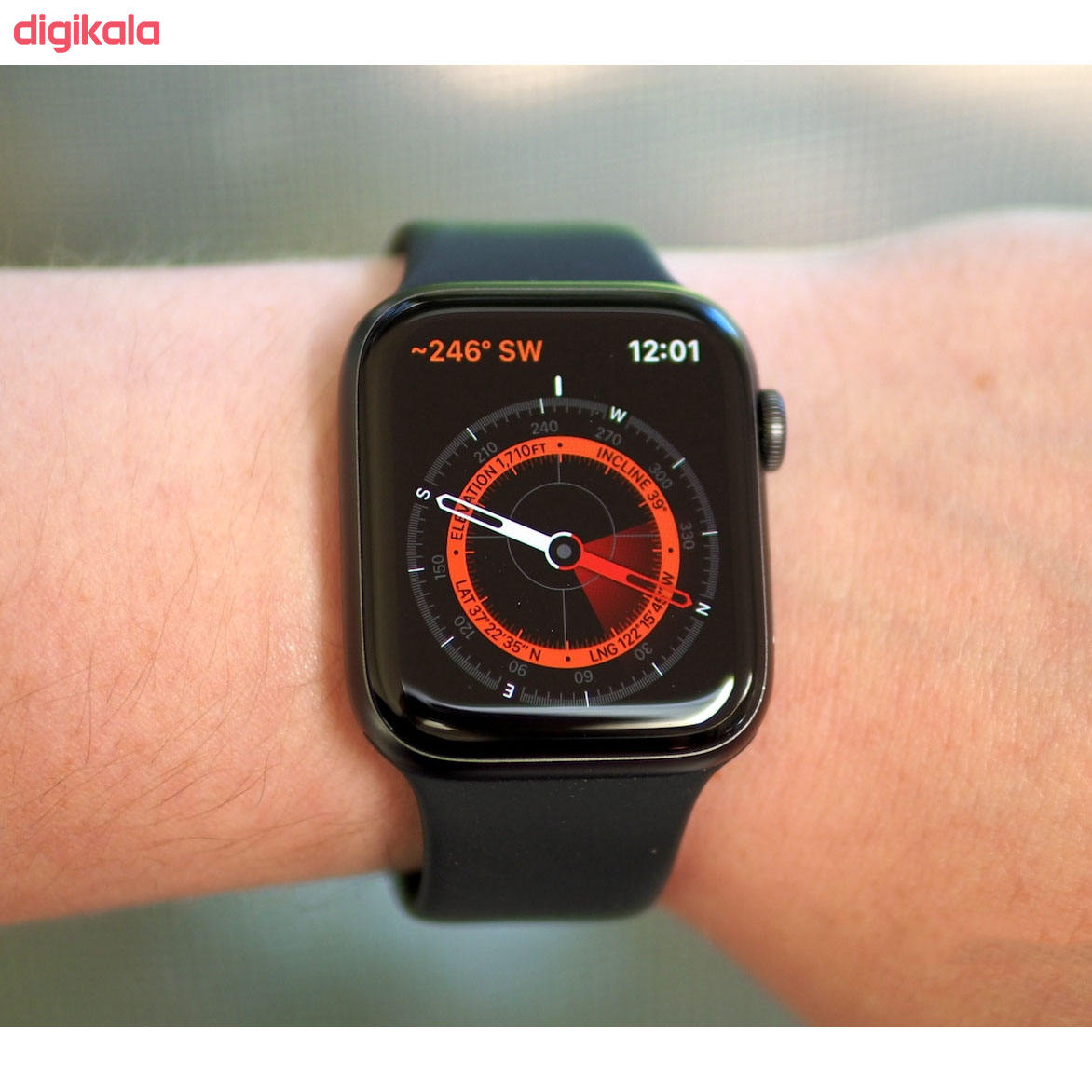 ساعت هوشمند اپل واچ سری 5 مدل 44m Space  Aluminum Case  Sport Band main 1 4