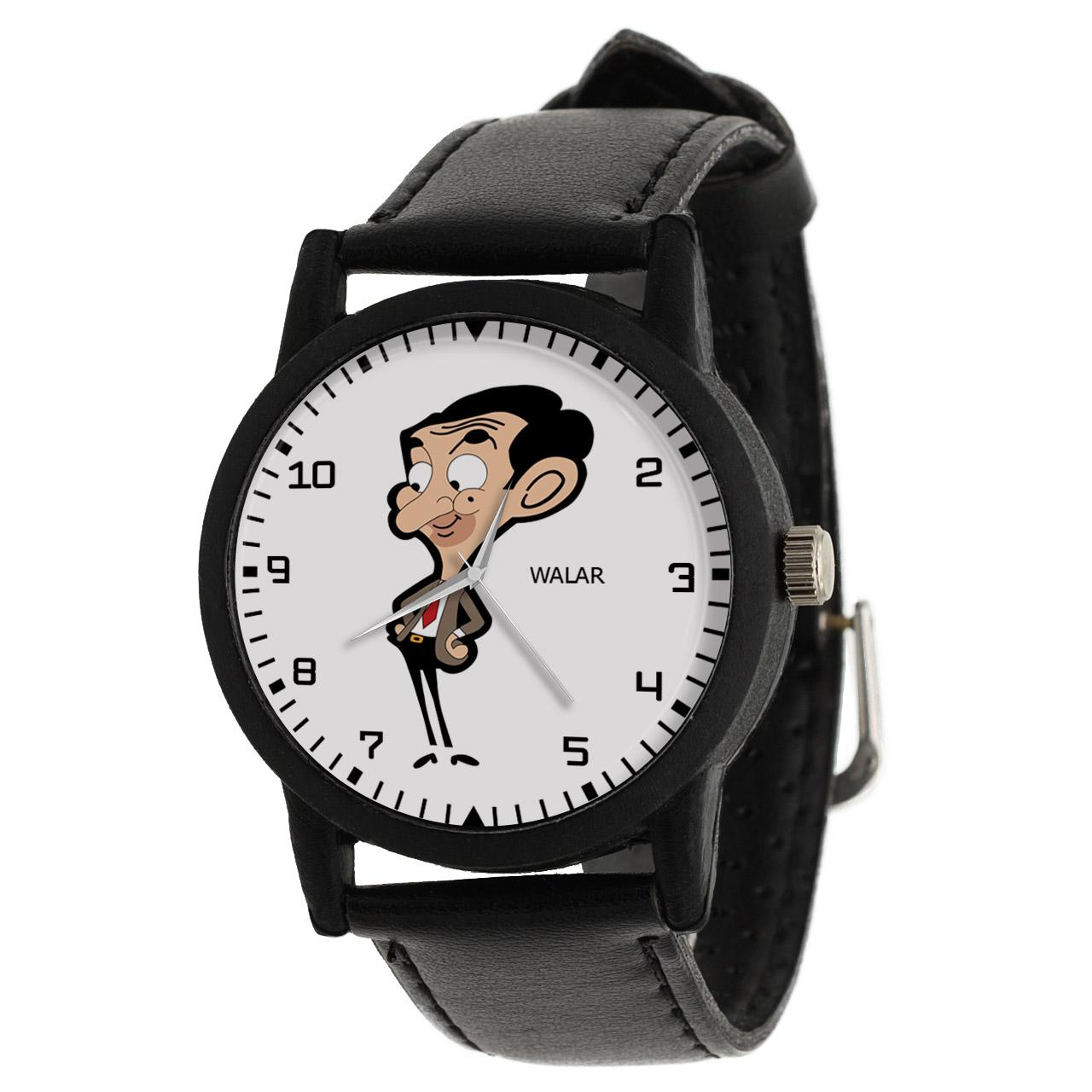 ساعت مچی عقربه ای والار طرح مستر بین کد LF2243              ارزان