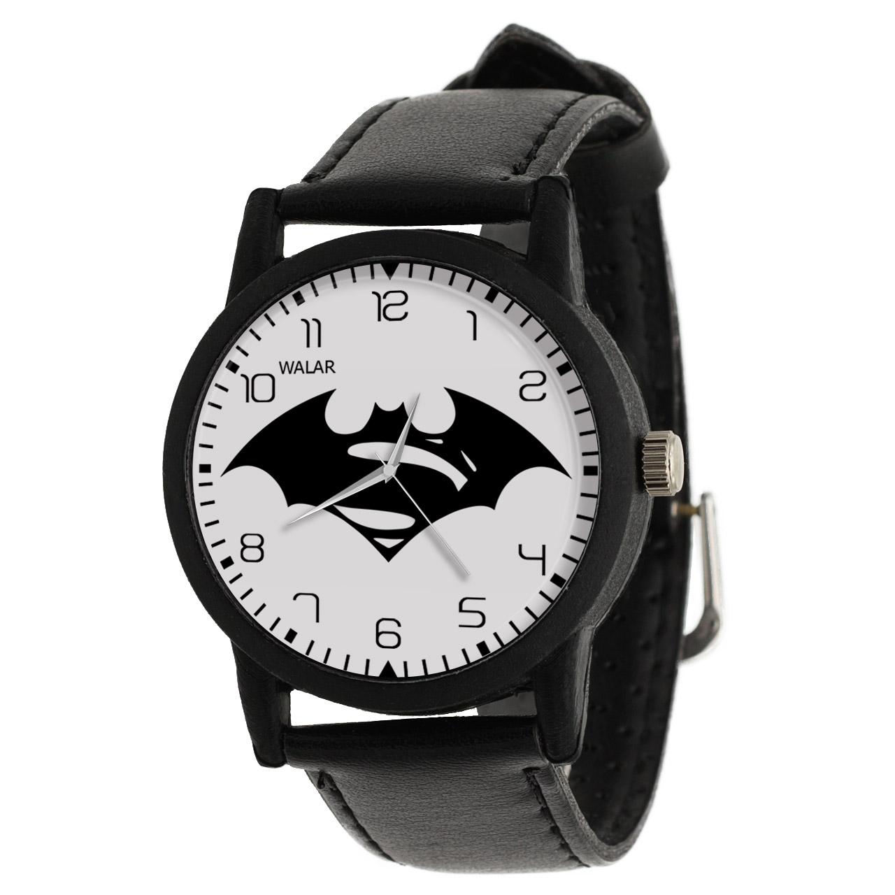 کد تخفیف                                      ساعت مچی عقربه ای والار طرح سوپرمن کد LF2244