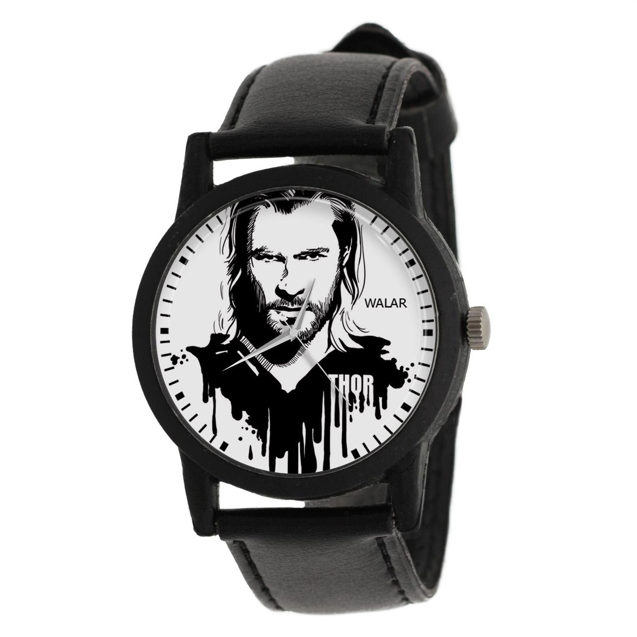 کد تخفیف                                      ساعت مچی عقربه ای مردانه والار طرح تور کد LF2249