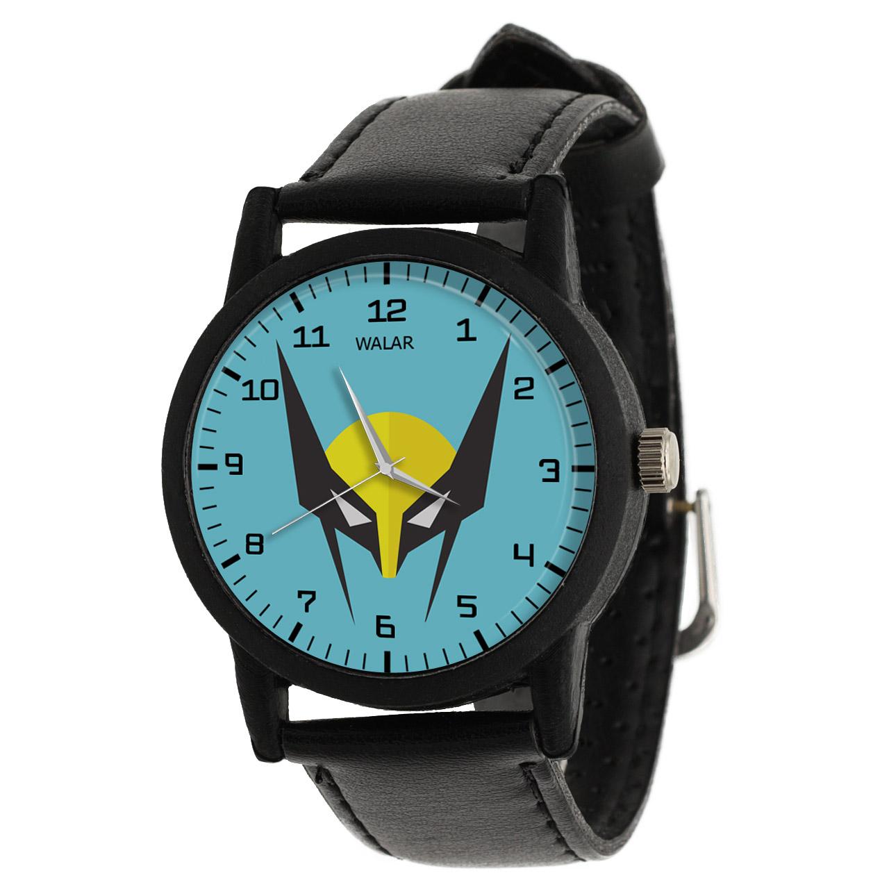 کد تخفیف                                      ساعت مچی عقربه ای مردانه والار طرح ولورین کد LF2253