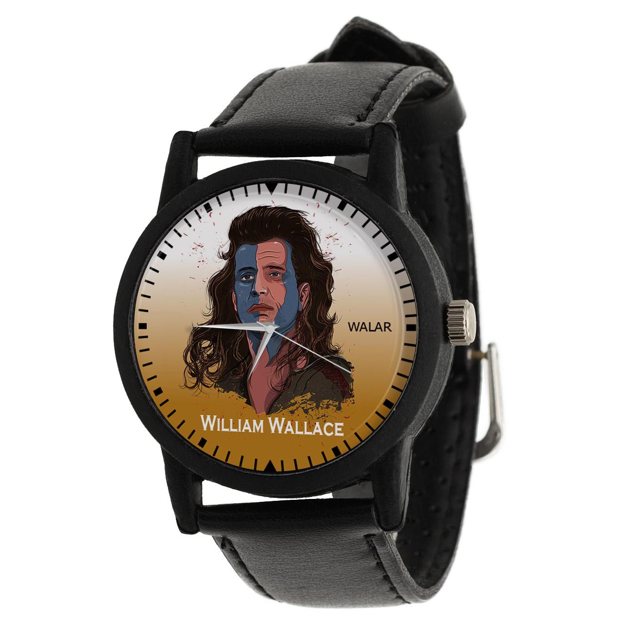 کد تخفیف                                      ساعت مچی عقربه ای مردانه والار طرح ویلیام والاس کد LF2257