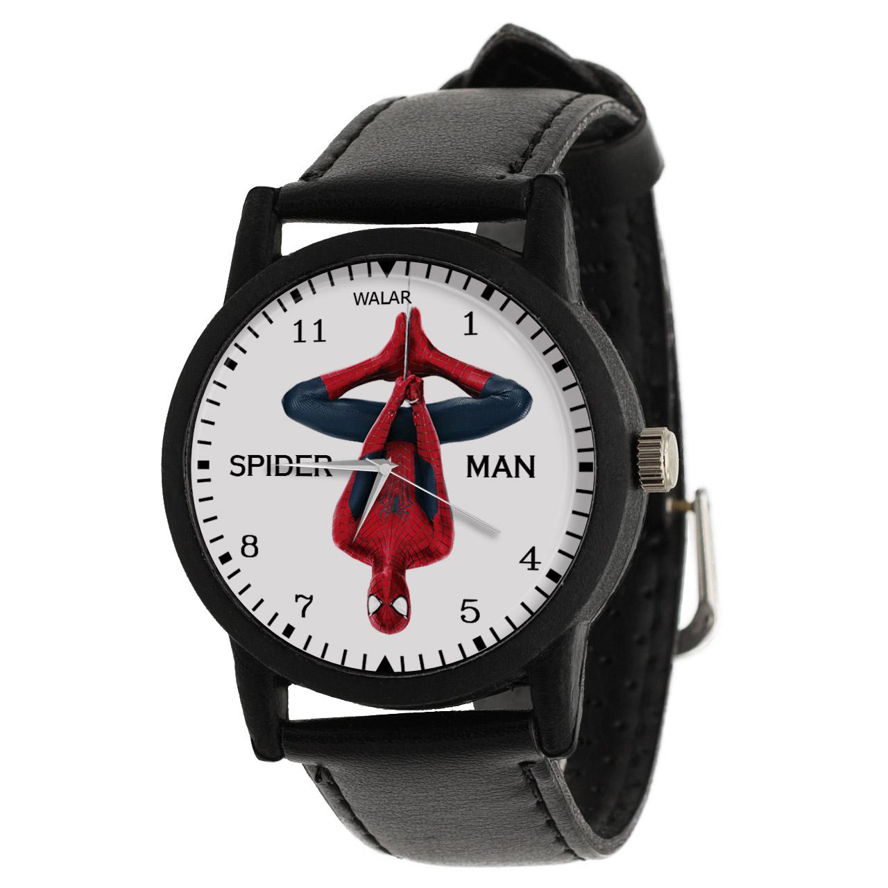 کد تخفیف                                      ساعت مچی عقربه ای والار طرح اسپایدرمن کد LF2262