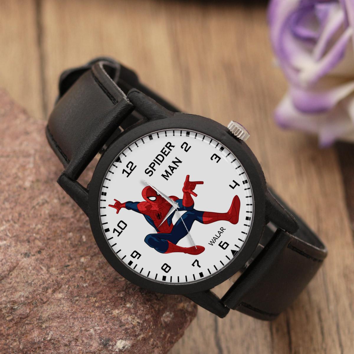 ساعت مچی عقربه ای والار طرح اسپایدرمن کد LF2266              ارزان