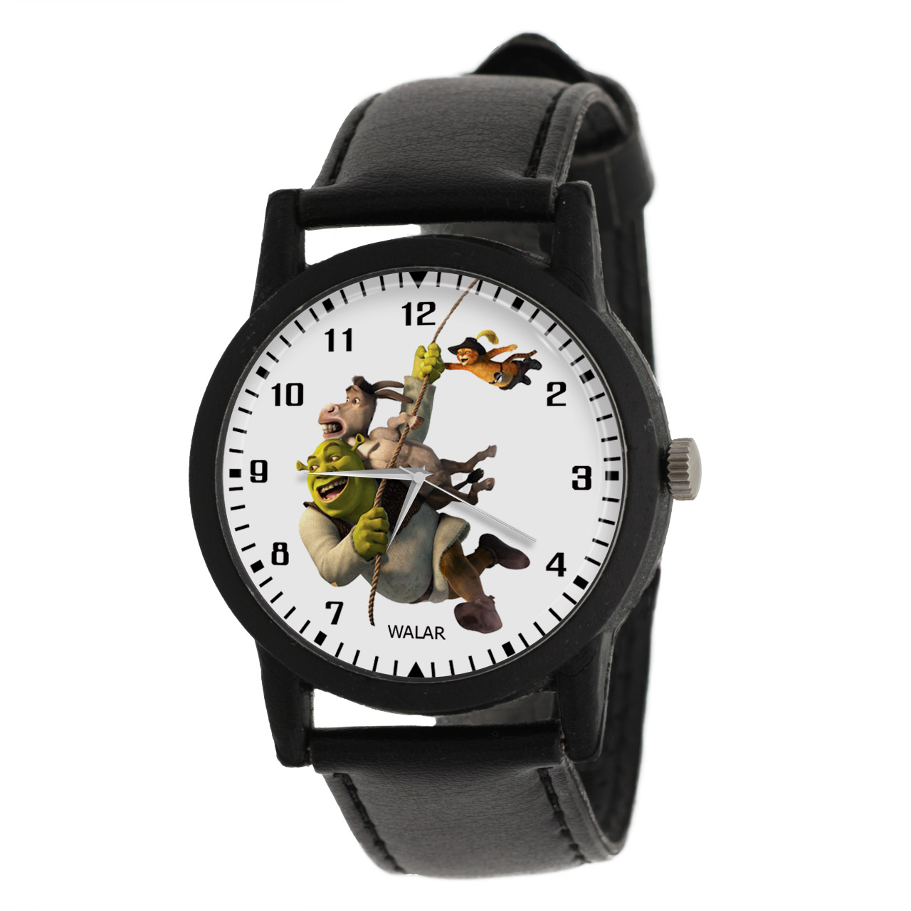 کد تخفیف                                      ساعت مچی عقربه ای والار طرح شرک کد LF2271