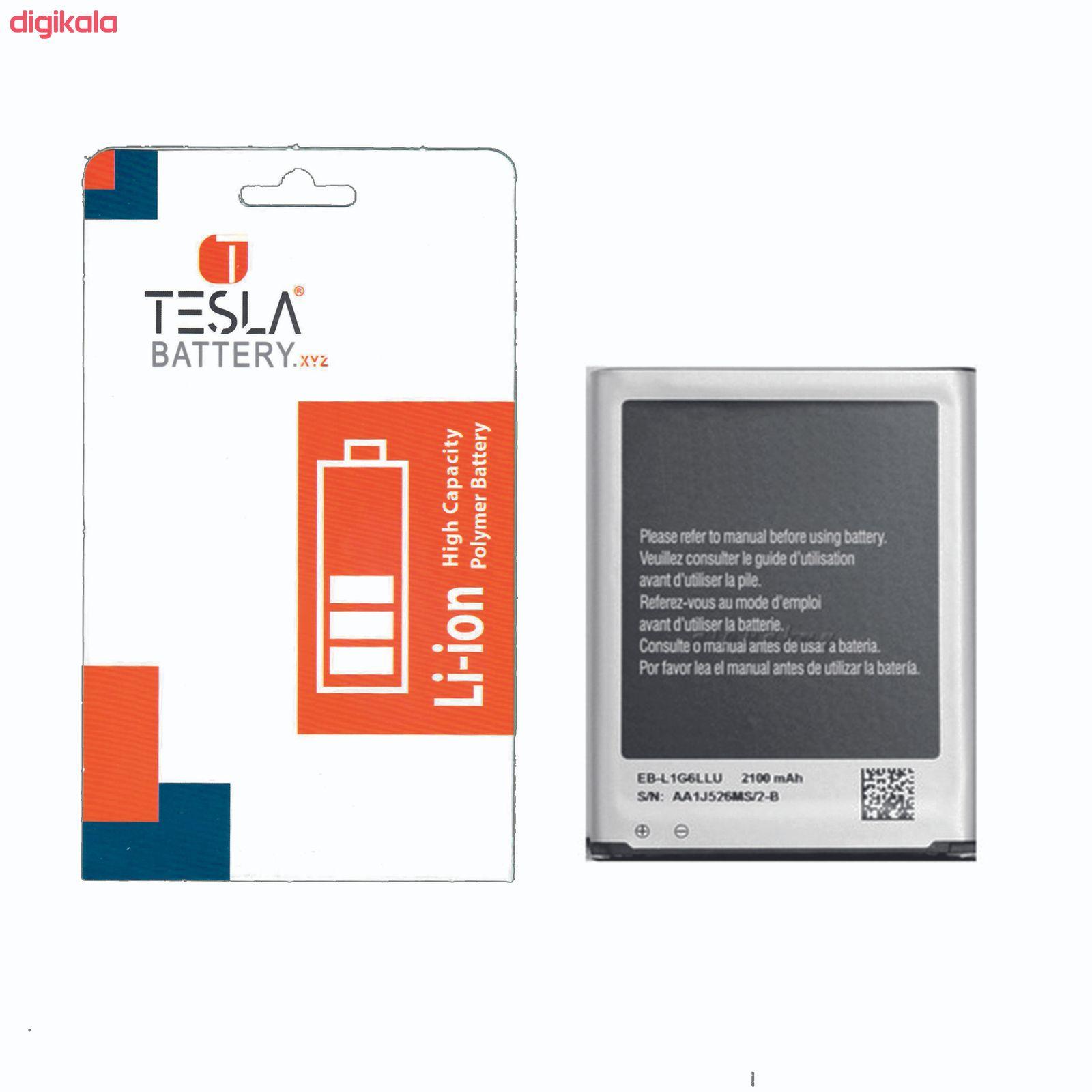 باتری موبایل مدل EB-L1G6LLU ظرفیت 2100 میلیآمپر ساعت مناسب برای گوشی موبایل سامسونگ Galaxy S3 main 1 1