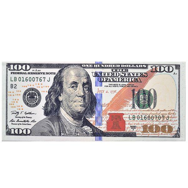 کیف پول طرح 100 دلار مدل cm100dola