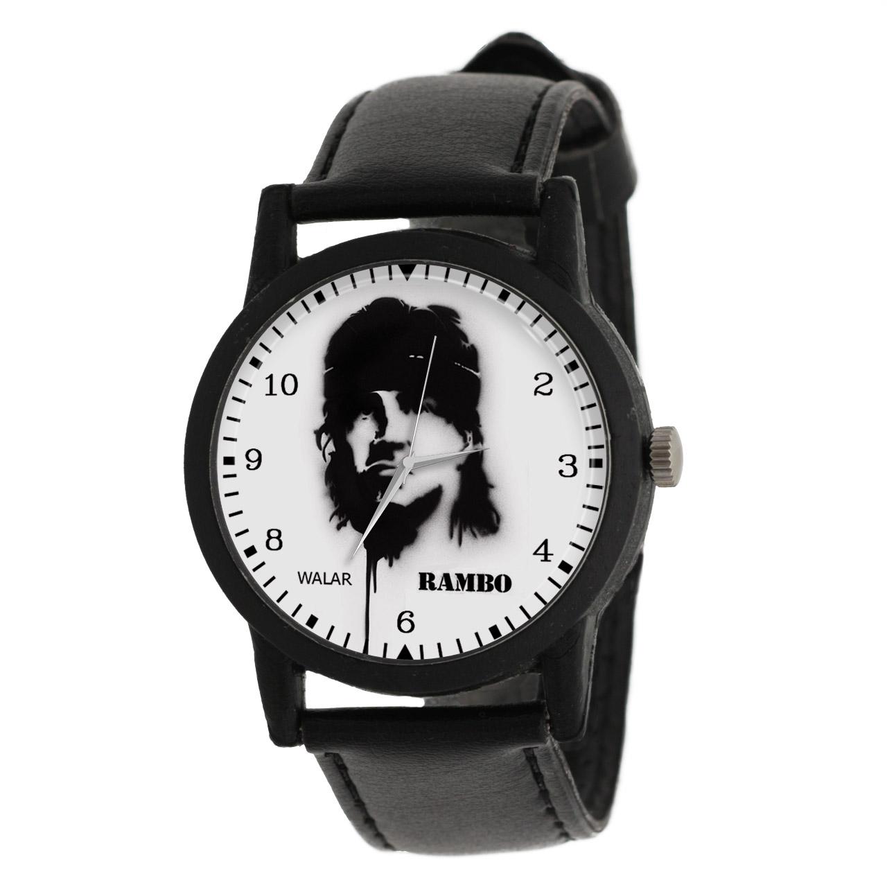 کد تخفیف                                      ساعت مچی عقربه ای مردانه والار طرح رمبو کد LF2278