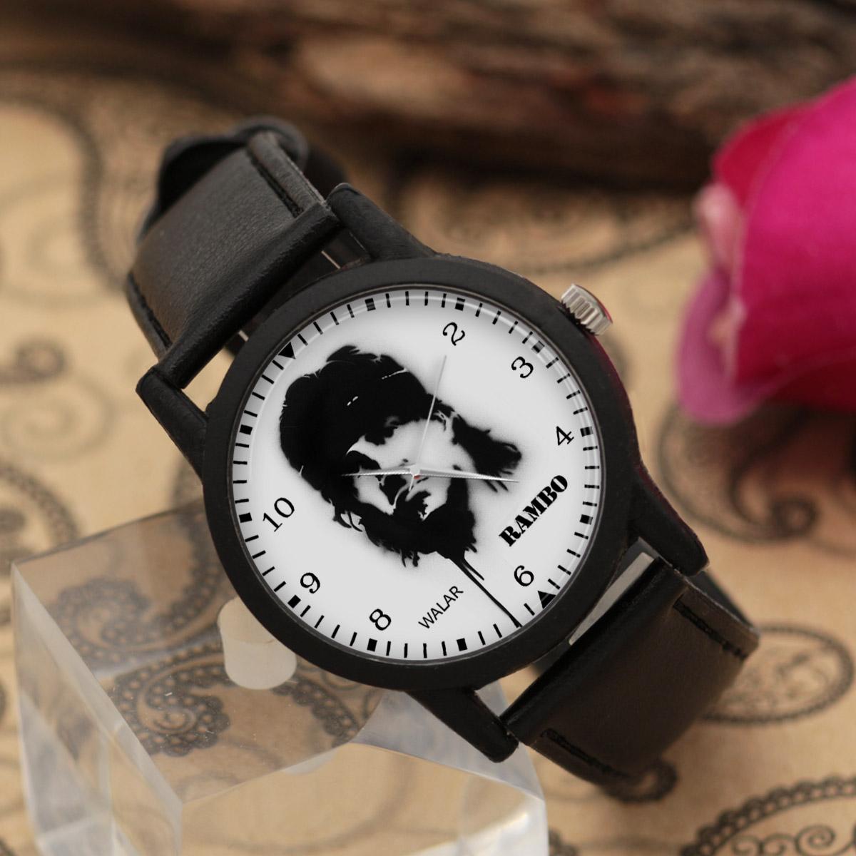 ساعت مچی عقربه ای مردانه والار طرح رمبو کد LF2278