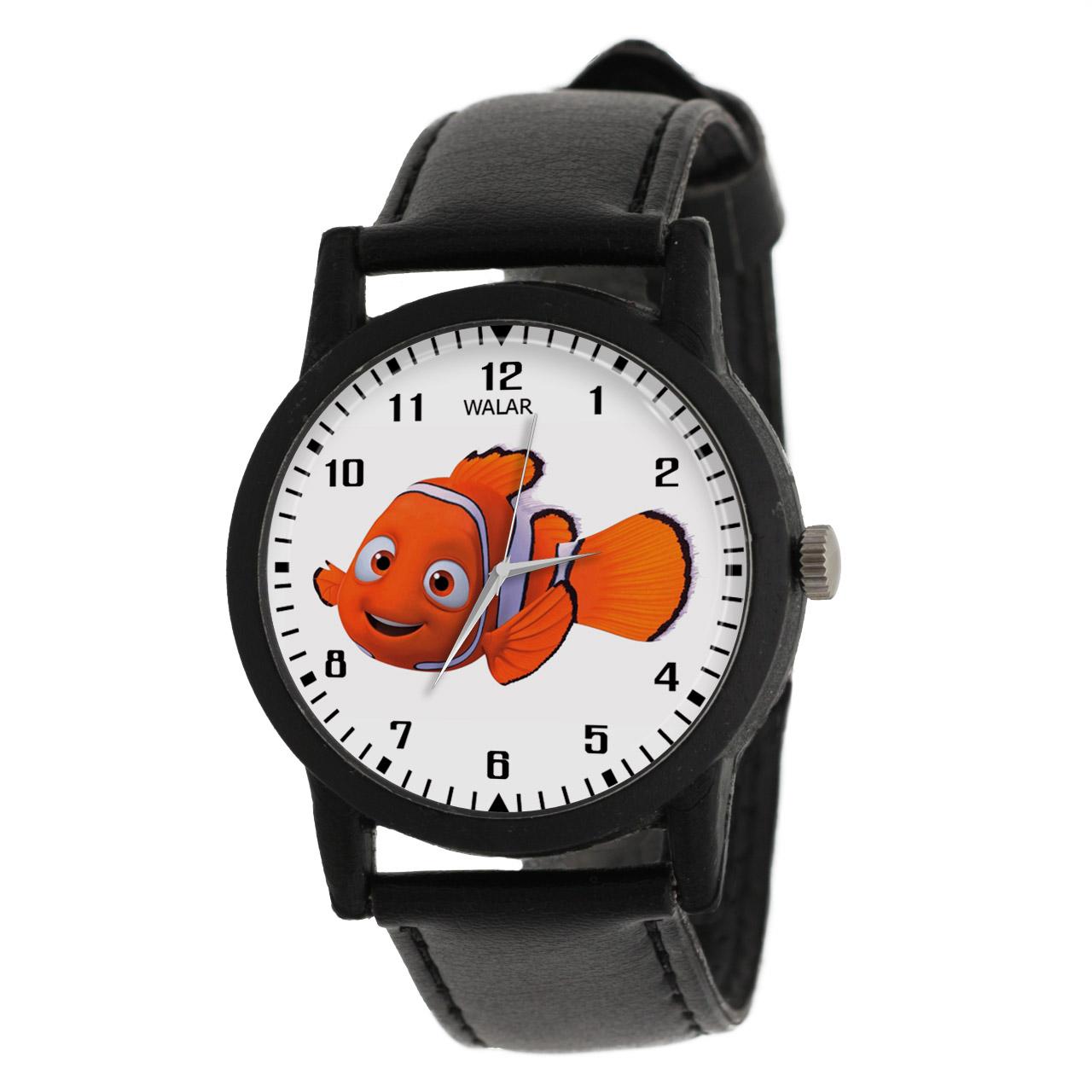 ساعت مچی عقربه ای والار طرح نمو کد LF2282