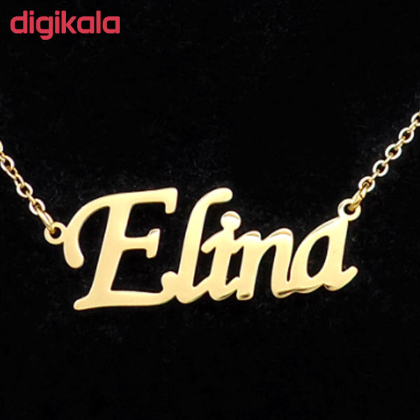 گردنبند نقره زنانه ژوپینگ طرح الینا کد A64998