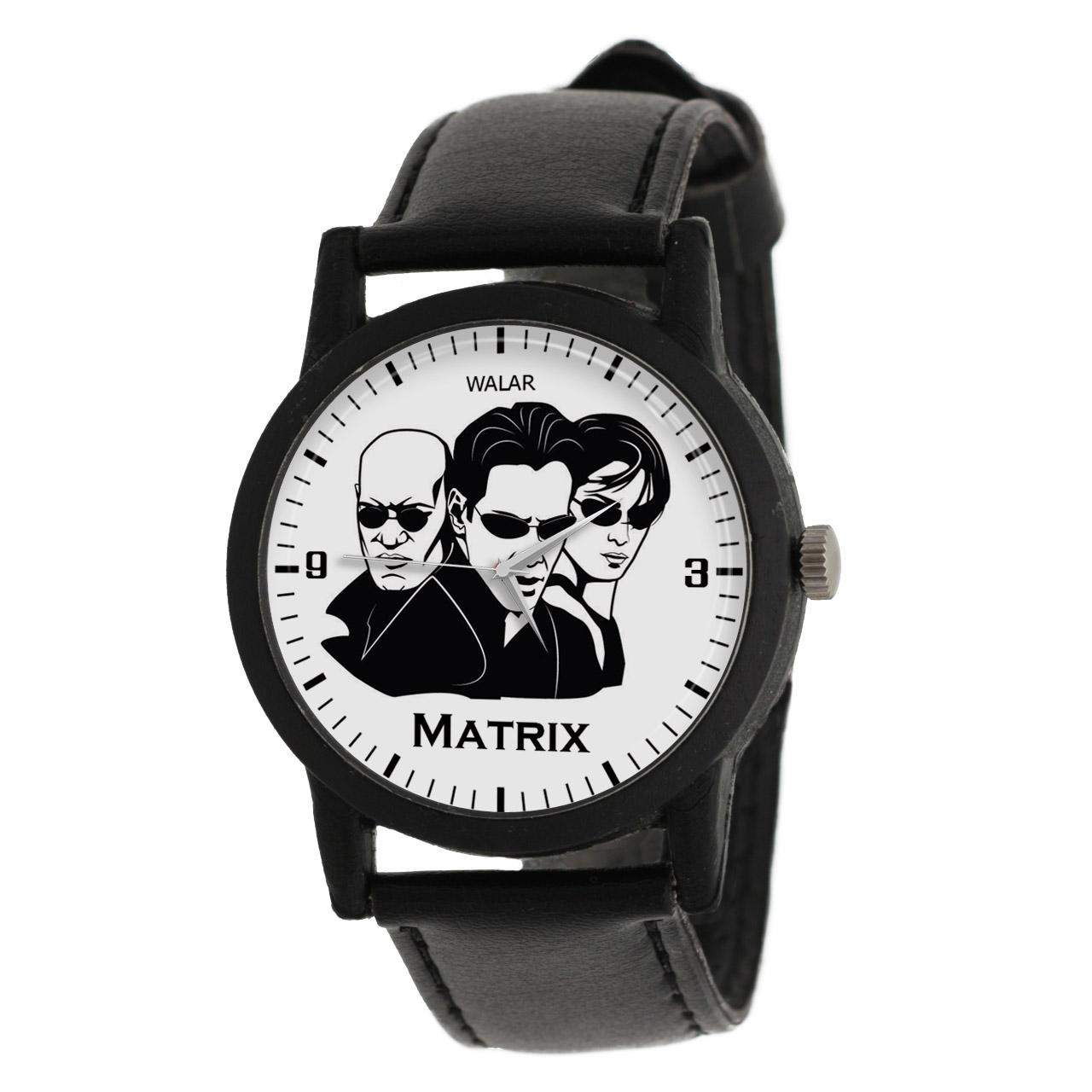 قیمت                      ساعت مچی عقربه ای والار طرح ماتریکس کد LF2284