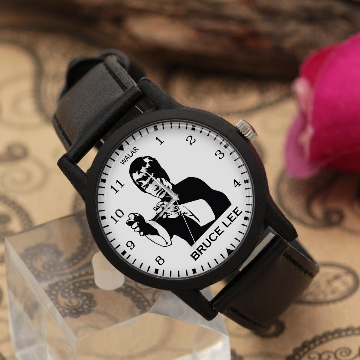 ساعت مچی عقربه ای والار طرح بروس لی کد LF2286              ارزان