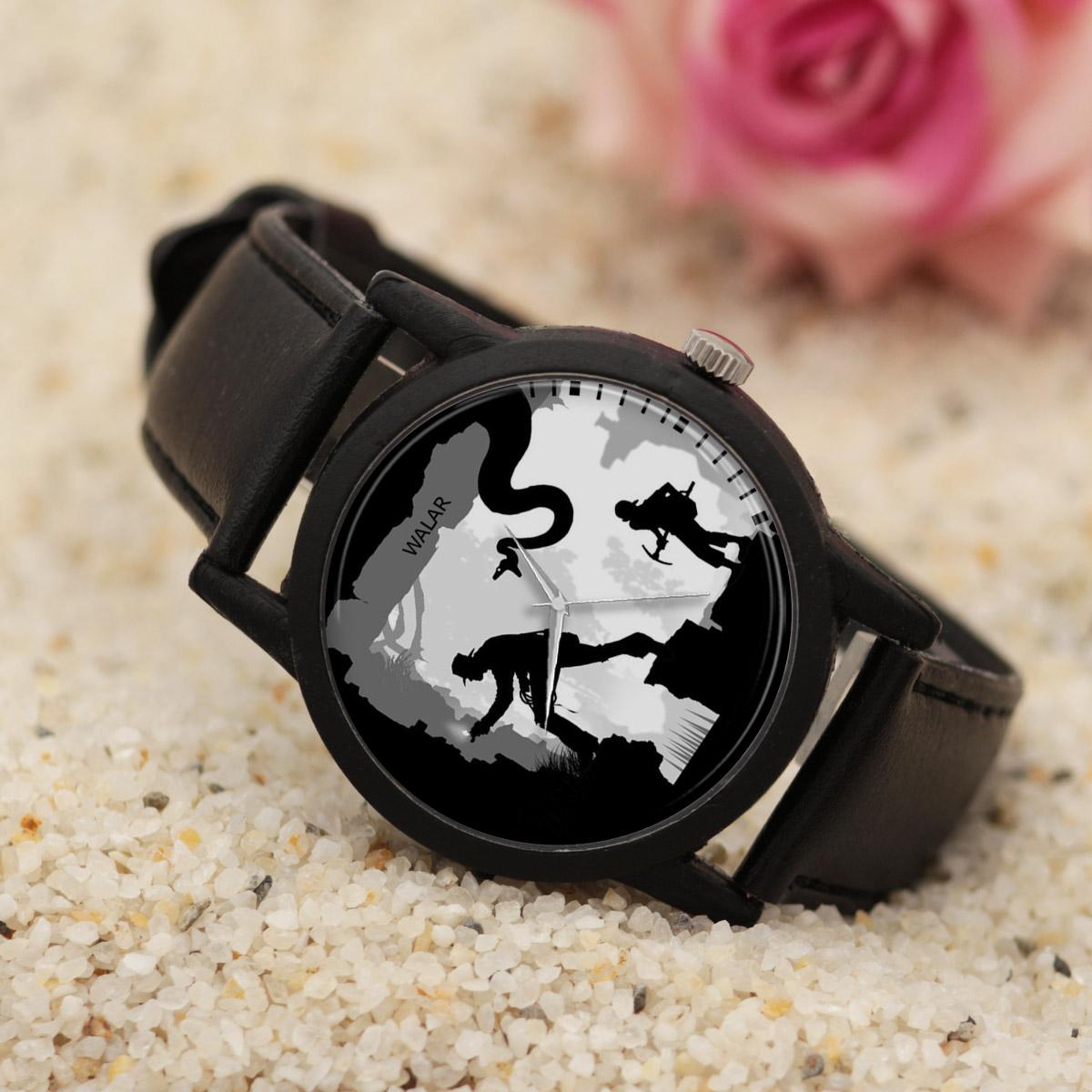 ساعت مچی عقربه ای مردانه والار طرح ایندیانا جونز کد LF2293