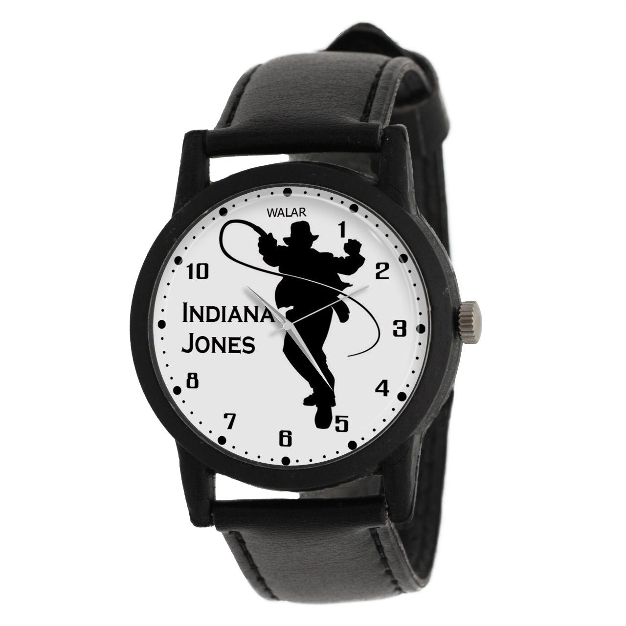 کد تخفیف                                      ساعت مچی عقربه ای مردانه والار طرح ایندیانا جونز کد LF2294
