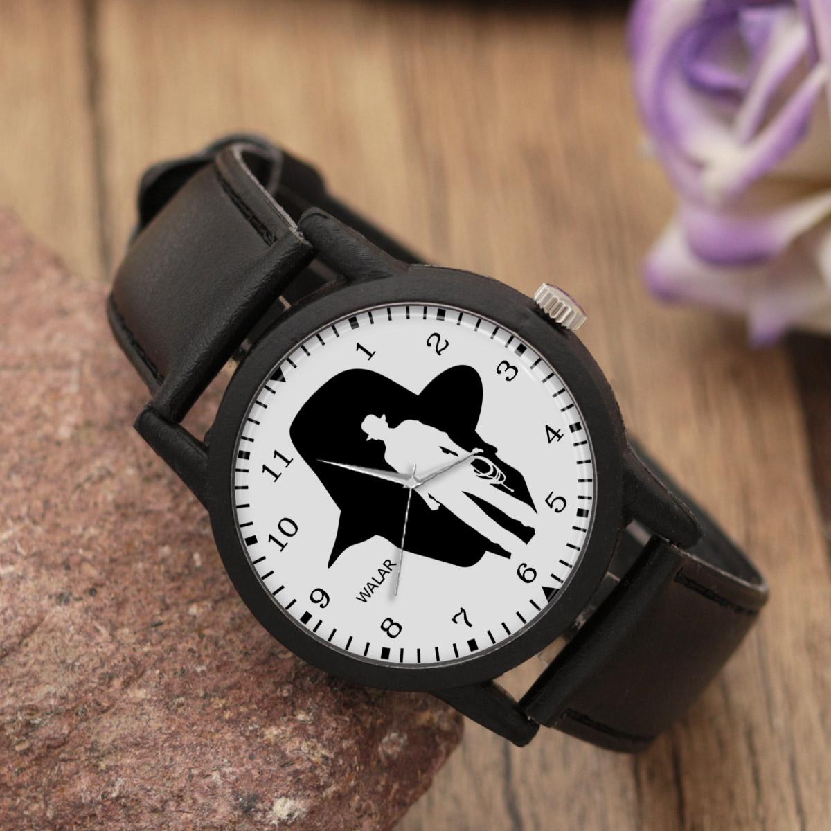 ساعت مردانه والار طرح ایندیانا جونز کد LF2295