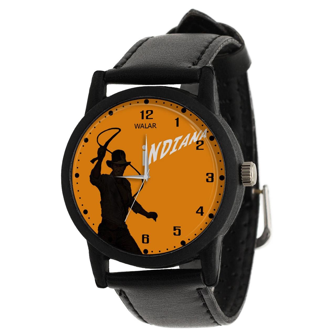 کد تخفیف                                      ساعت مچی عقربه ای مردانه والار طرح ایندیانا جونز کد LF2297