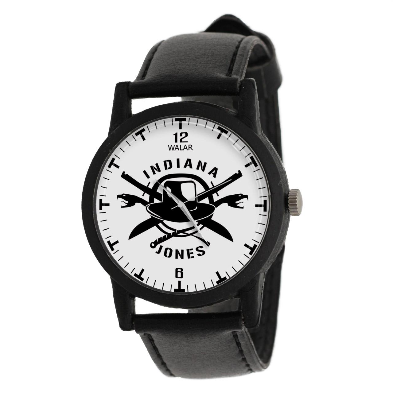 کد تخفیف                                      ساعت مچی عقربه ای مردانه والار طرح ایندیانا جونز کد LF2298