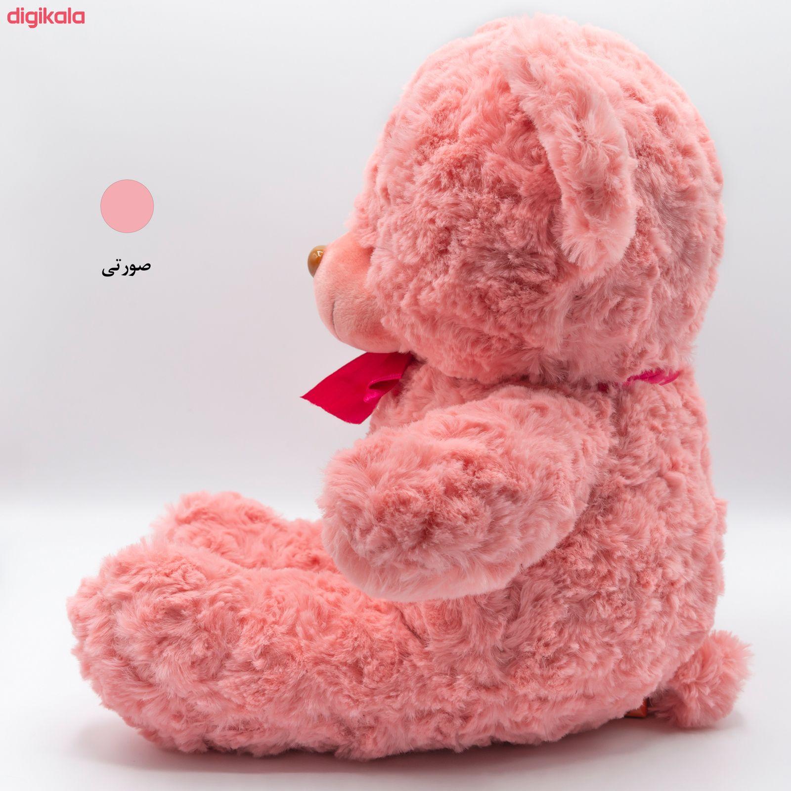 عروسک بی جی دا طرح خرس مهربان کد BT11444 ارتفاع 38 سانتی متر