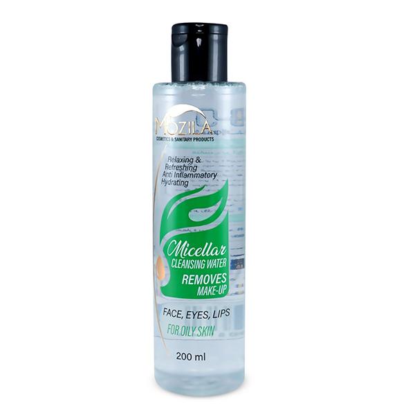 آب پاک کننده آرایش صورت موزیلا مدل Oliy Skin حجم 200 میلی لیتر