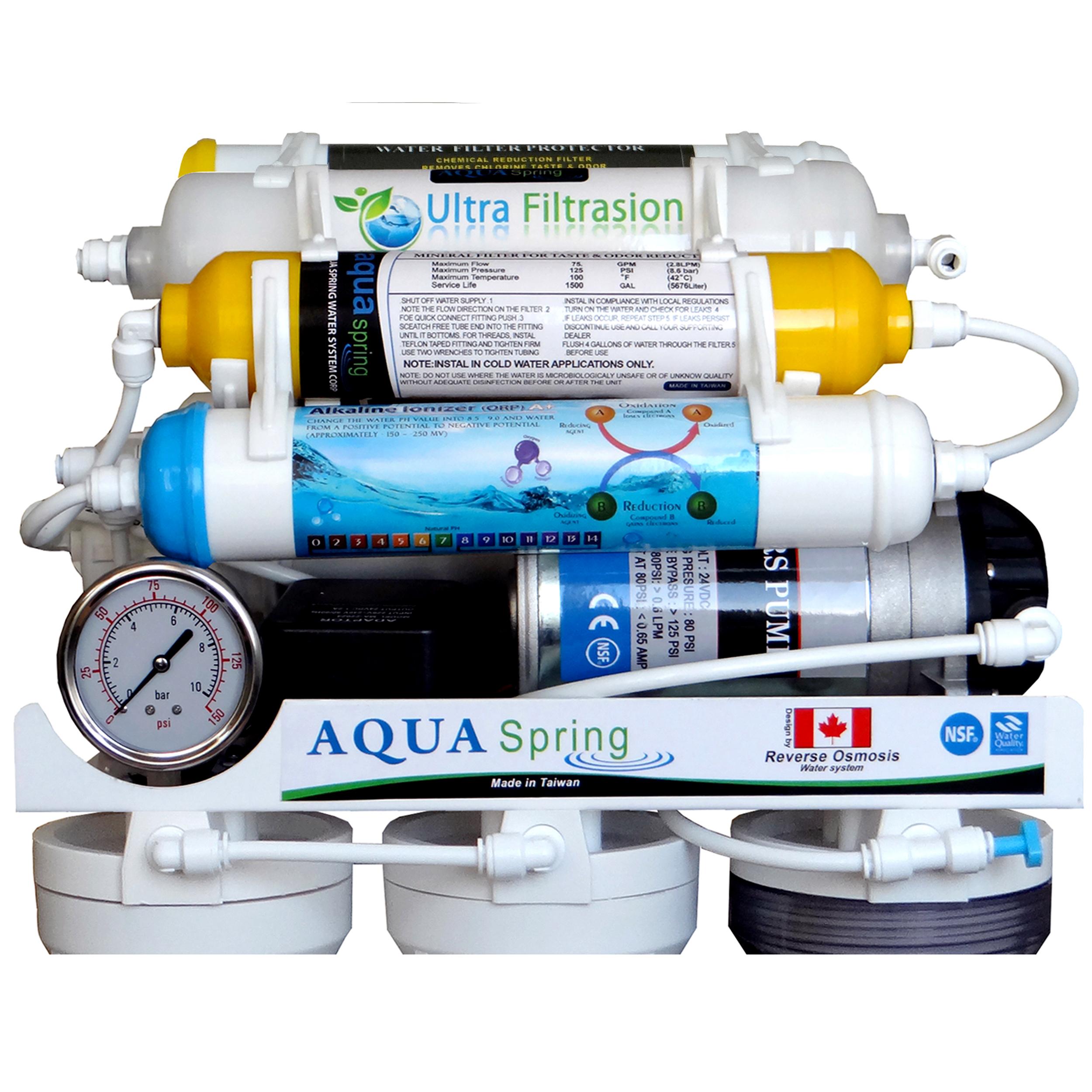 دستگاه تصفیه کننده آب آکوآ اسپرینگ مدل RO-AF1600