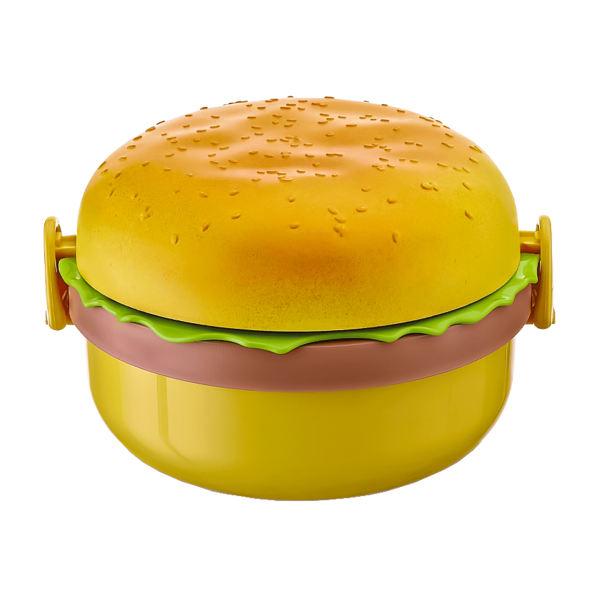 ظرف غذای کودک کیولوکس مدل Hamburger کد 0562