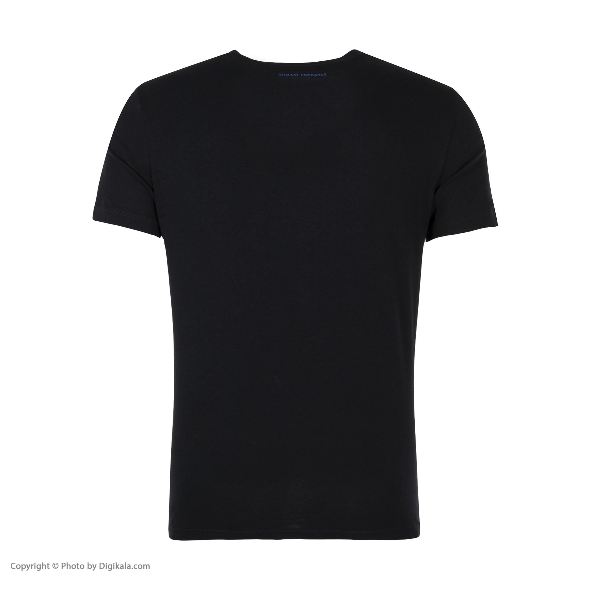تی شرت مردانه آرمانی اکسچنج مدل 6ZZTBUZJH4Z-15410