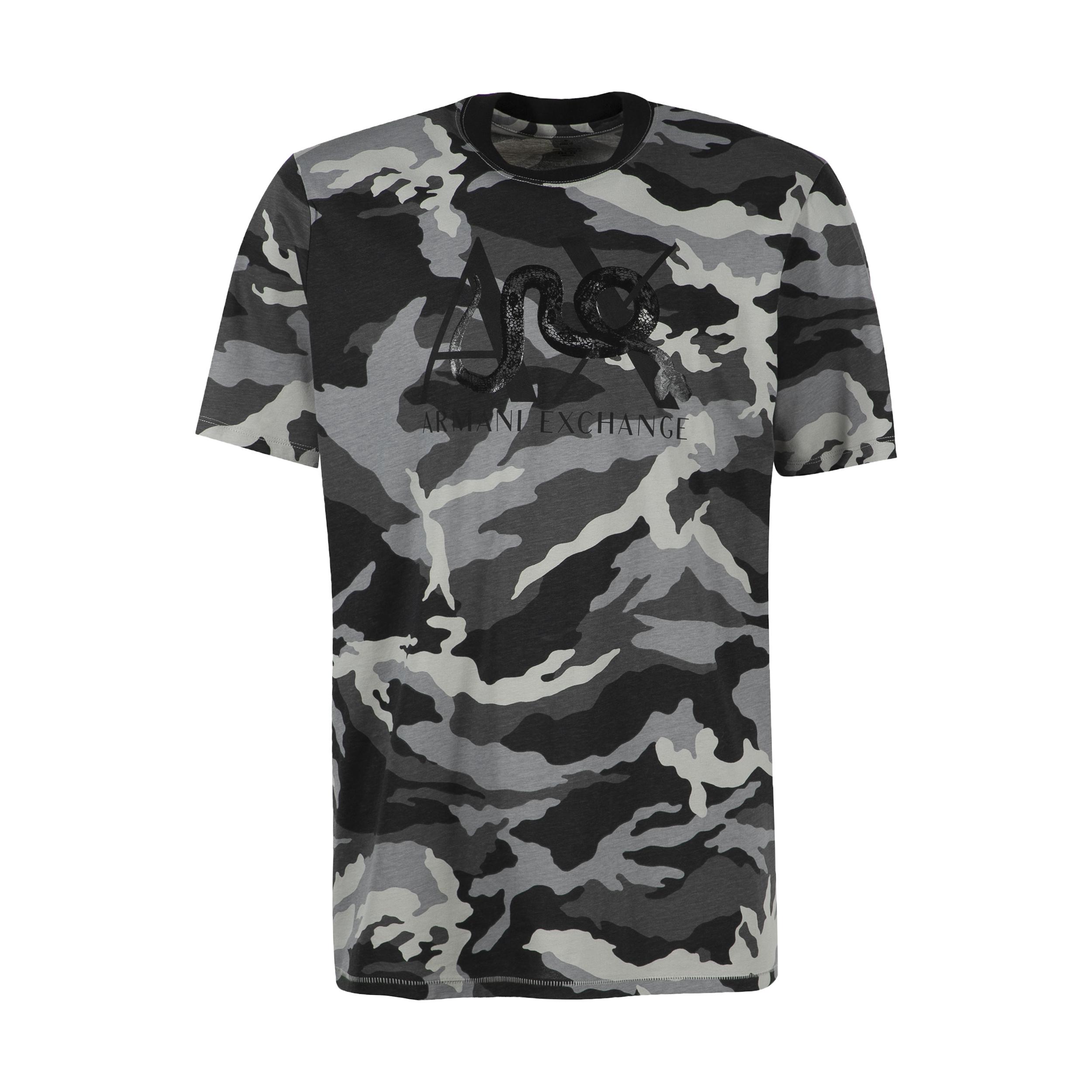 تی شرت مردانه آرمانی اکسچنج مدل 3GHTLEZJH4Z-1581