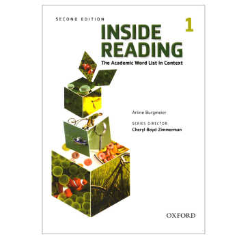کتاب Inside Reading 1 اثر Arline Burgmeire انتشارات oxford university press