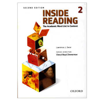 کتاب Inside Reading 2 اثر Lawrence J. Zwier انتشارات oxford university press