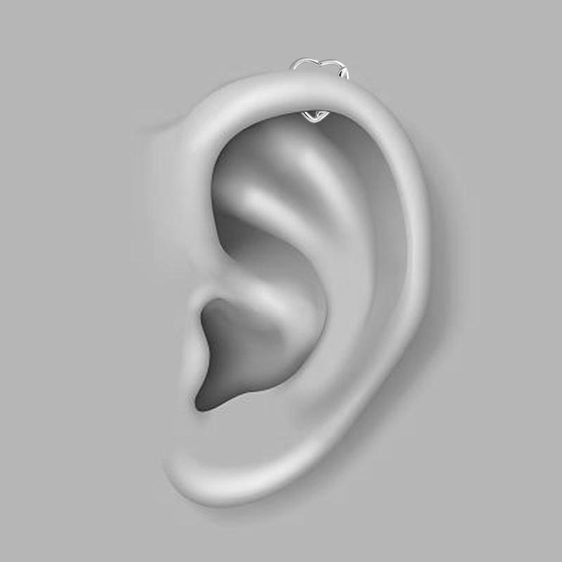 پیرسینگ گوش اقلیمه کد HS60