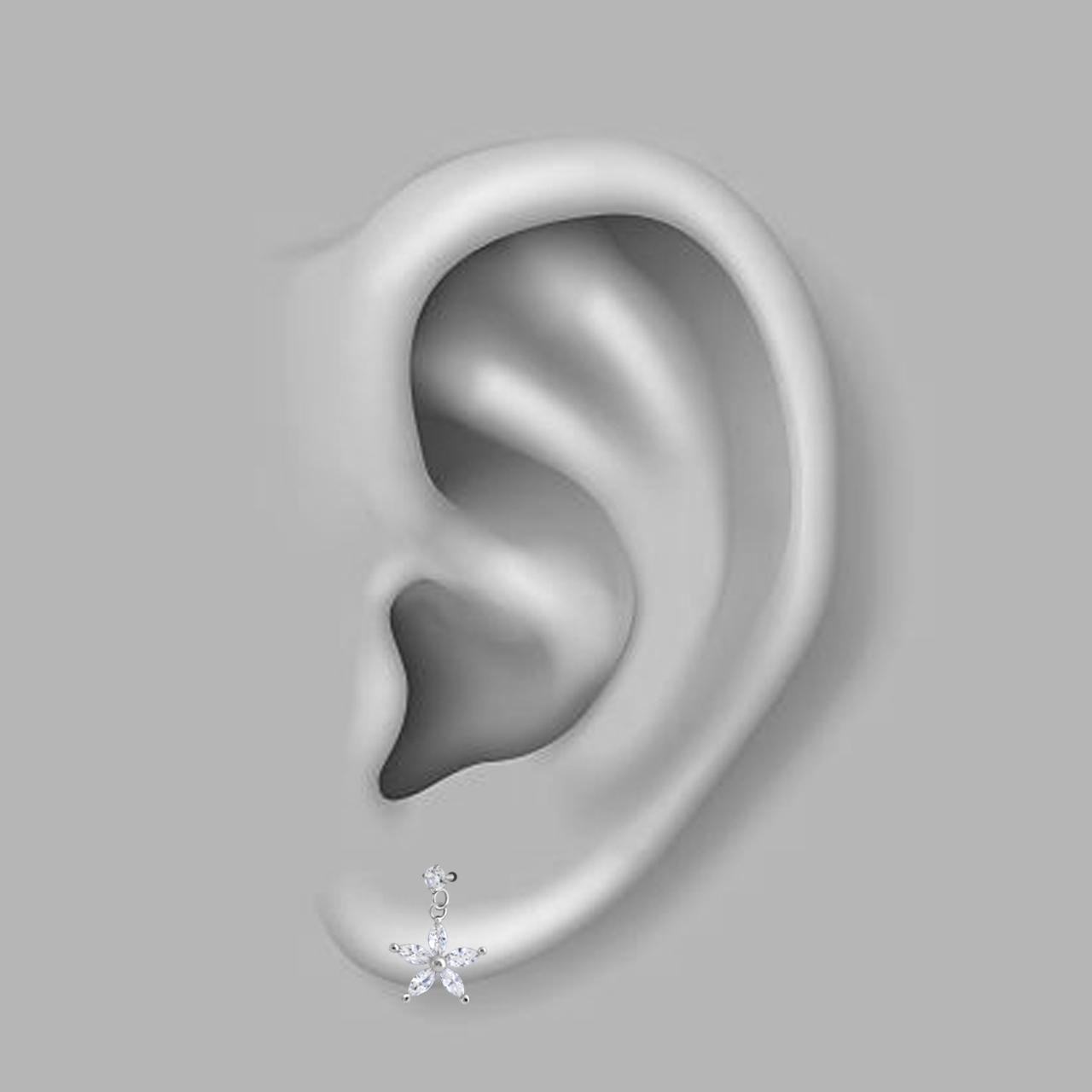 پیرسینگ گوش اقلیمه کد HS62