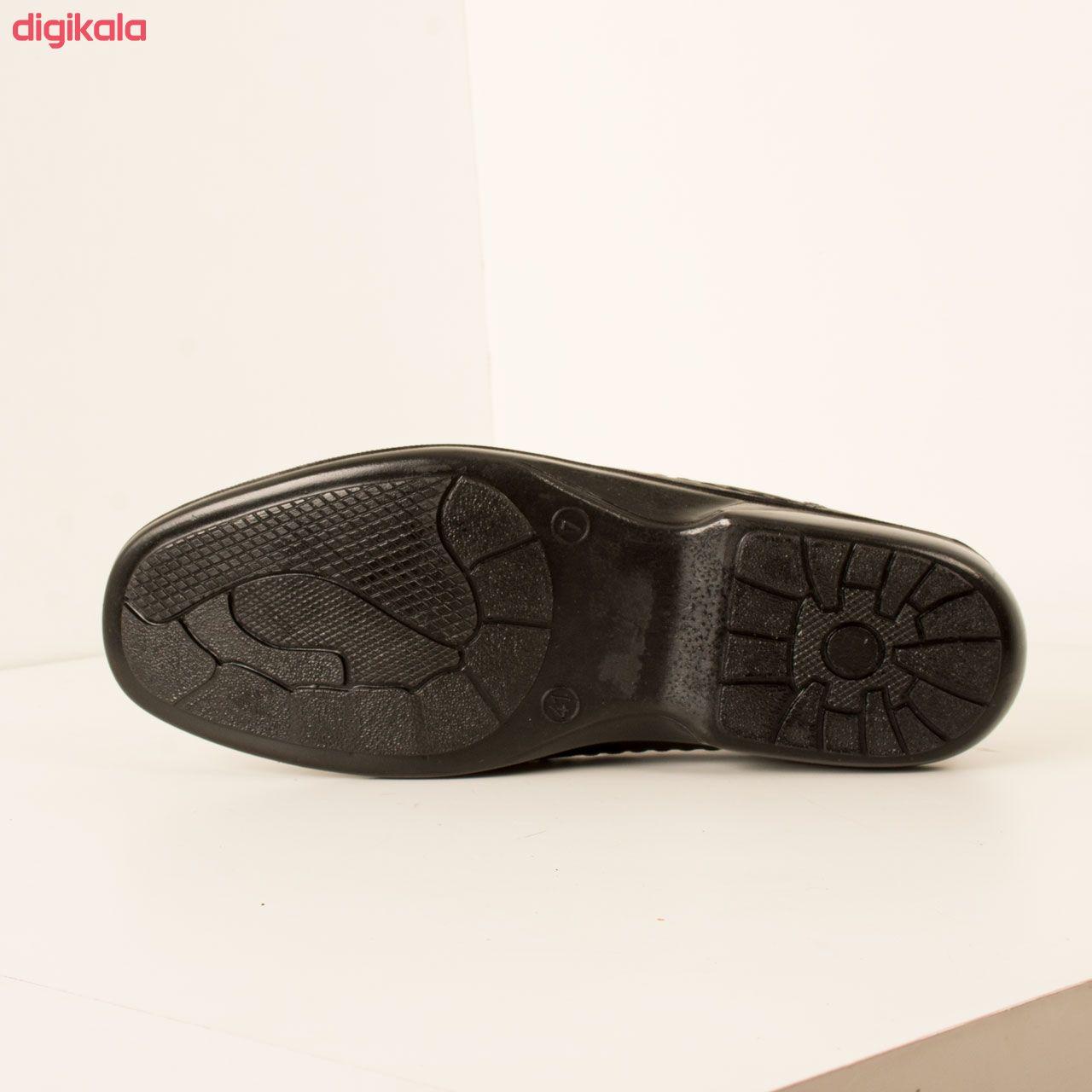 کفش روزمره مردانه پارینه چرم مدل SHO207