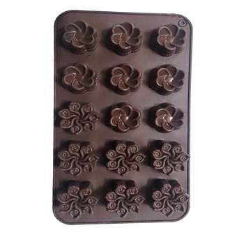 قالب شکلات طرح گل مدل 1256