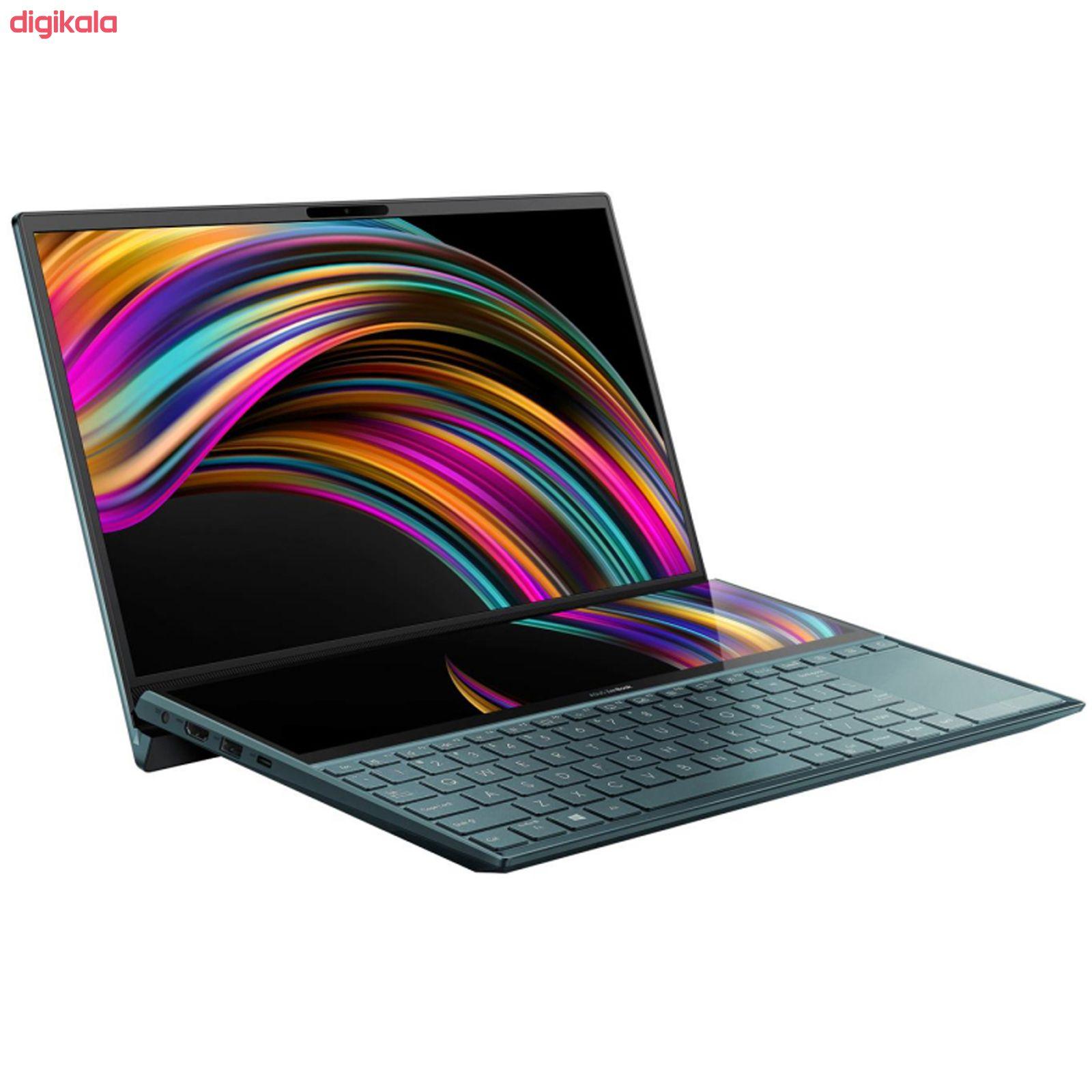 لپ تاپ 14 اینچی ایسوس مدل ZenBook Duo UX481FLC - AP main 1 8