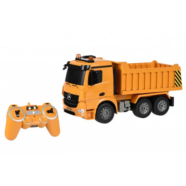 ماشین بازی کنترلی دابل ای مدل Mercedes-Benz Arocs Dump Truck