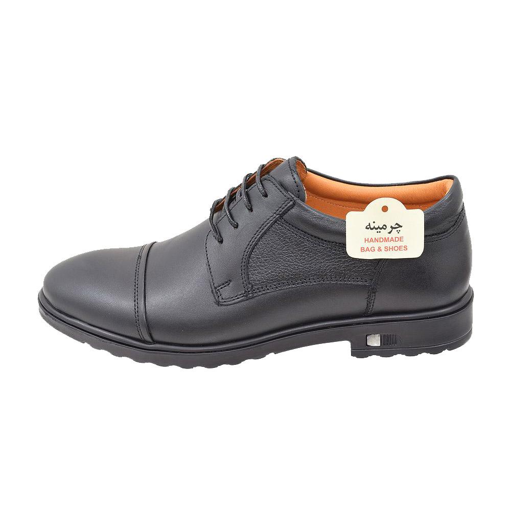 کفش مردانه چرمینه کد 346