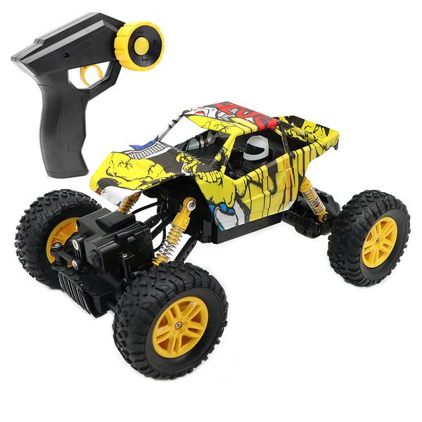 ماشین بازی کنترلی دابل ای مدل Rock Crawler کد E324