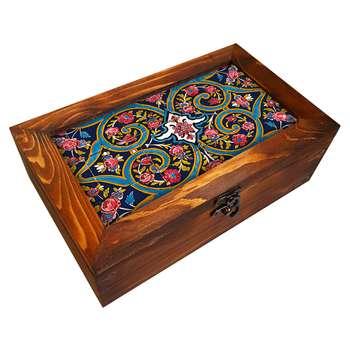 جعبه هدیه چوبی کد BG23