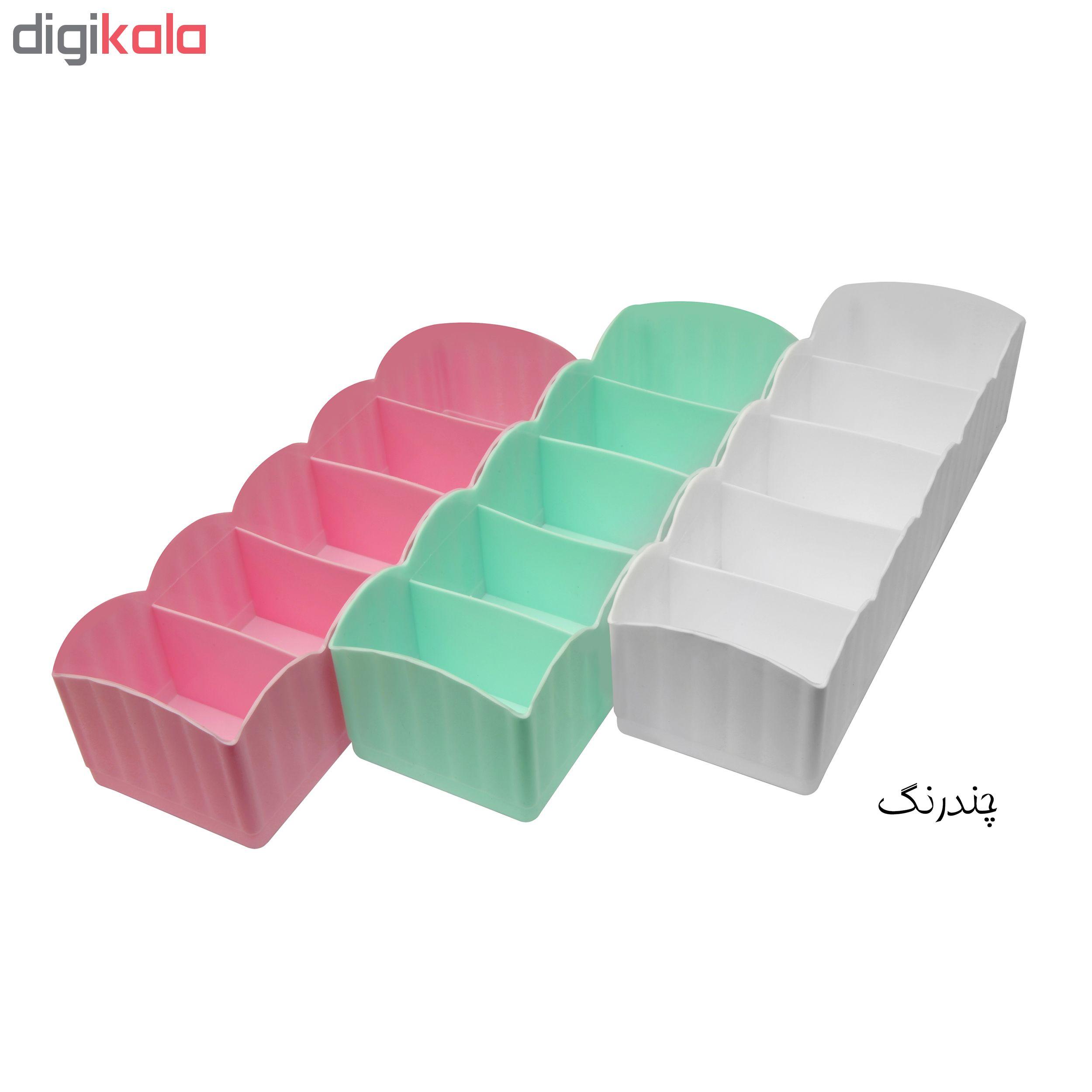 نظم دهنده کشو مدل Colorful بسته 3 عددی main 1 11