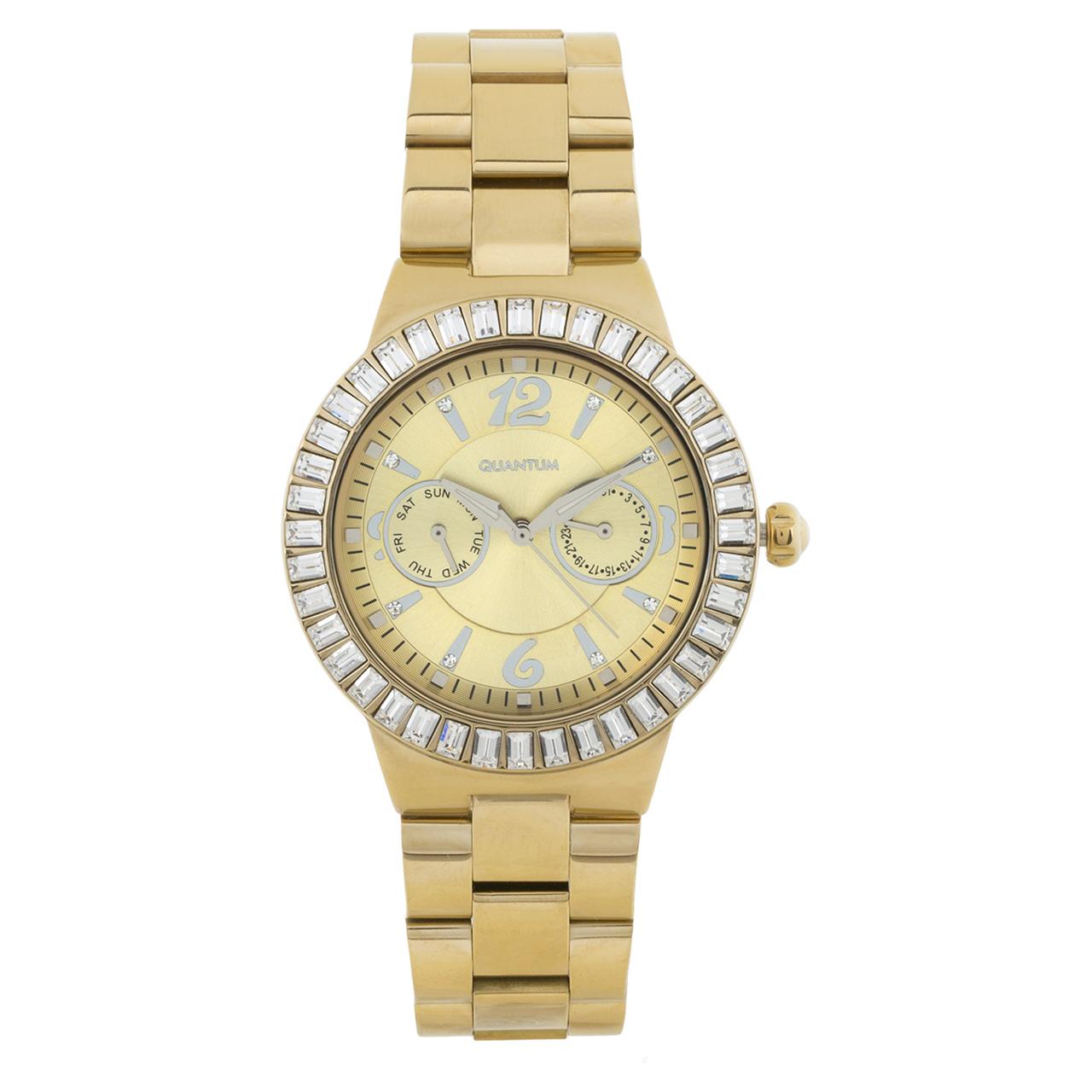 ساعت مچی عقربه ای زنانه کوانتوم کد IML353.12              ارزان