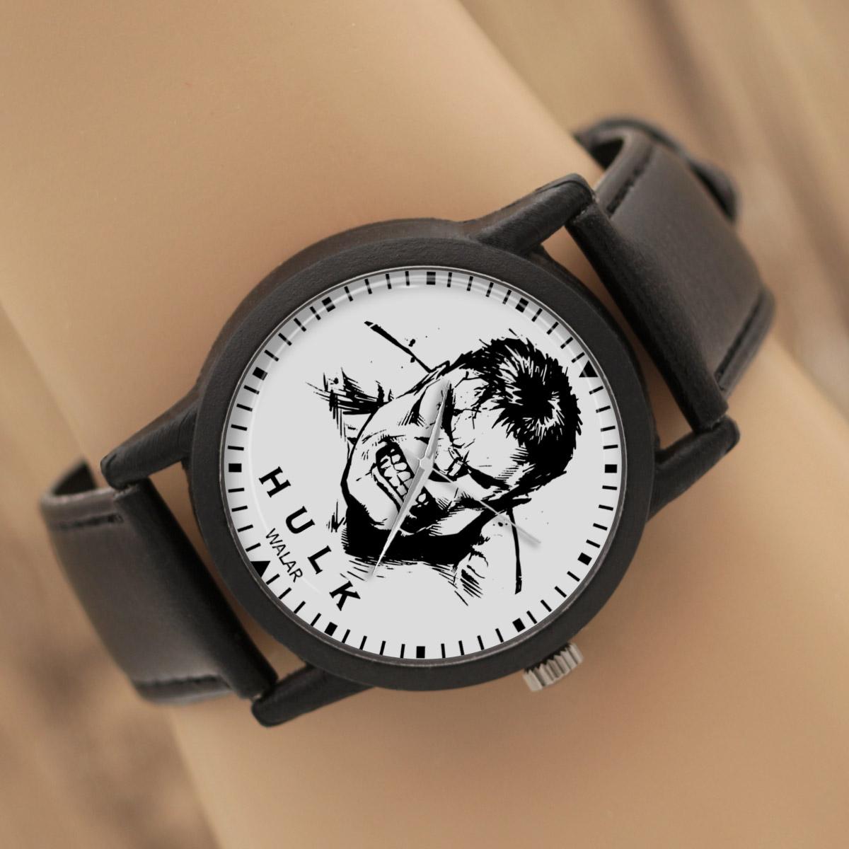 ساعت مچی عقربه ای والار طرح هالک کد LF2311