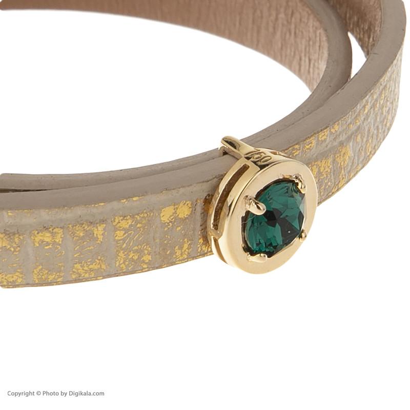 دستبند طلا 18 عیار زنانه درسا مدل 2364-2