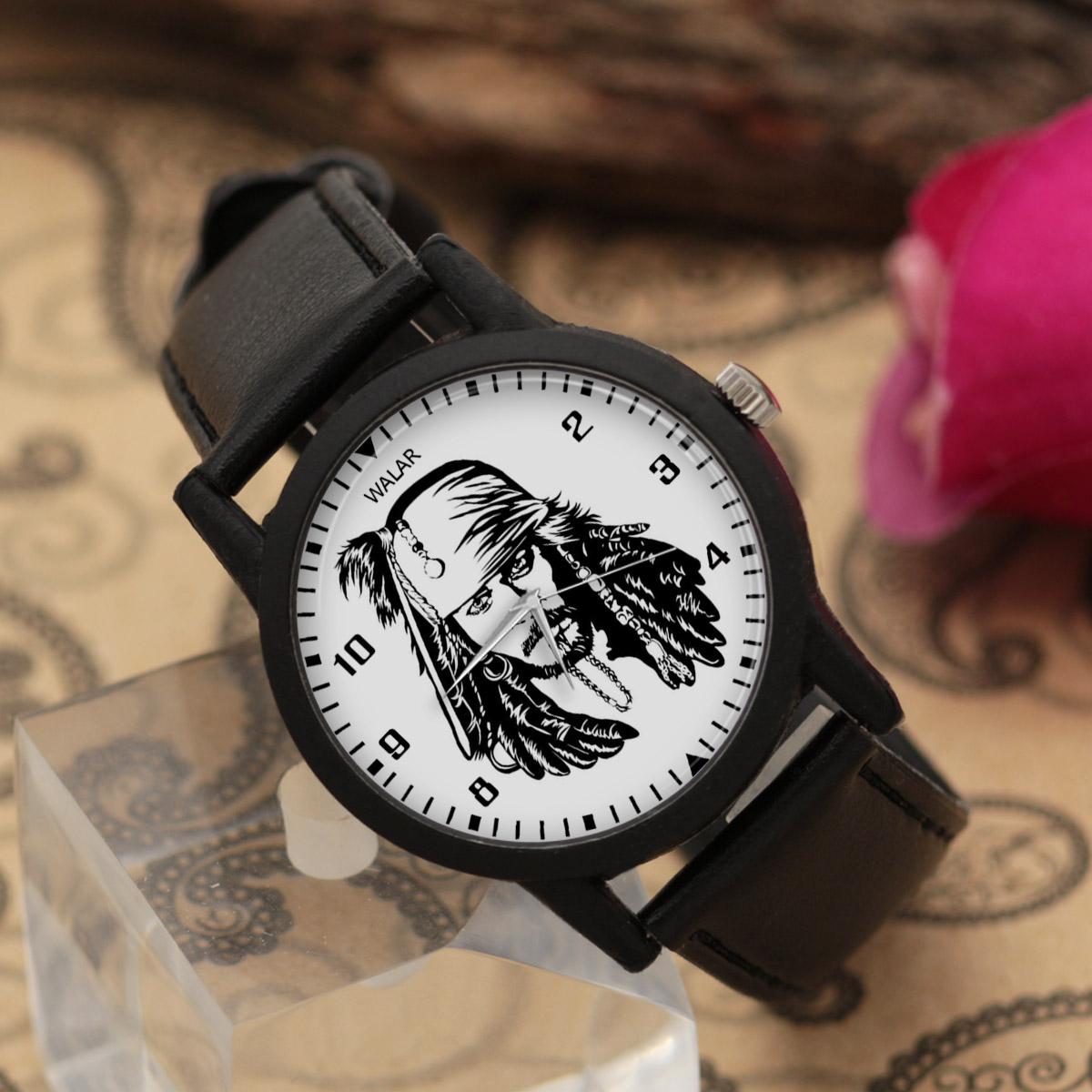 ساعت مچی عقربه ای والار طرح کاپیتان جک اسپارو کد LF2320              خرید (⭐️⭐️⭐️)