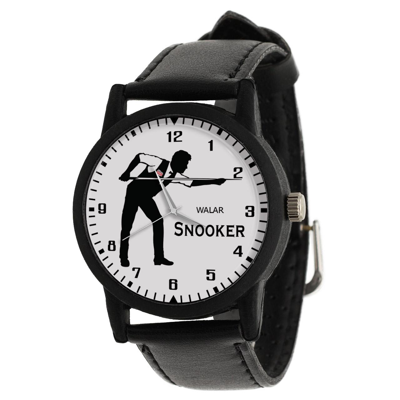 کد تخفیف                                      ساعت مچی عقربه ای مردانه والار طرح اسنوکر کد LF2325
